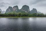 River Li in Guilin, China - 244806985