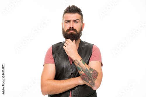 Fényképezés  Styling beard and moustache
