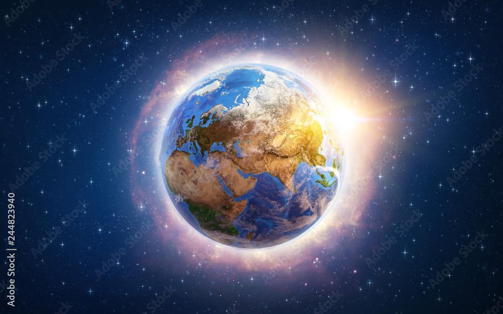 Fotografie, Obraz Global warming on Earth