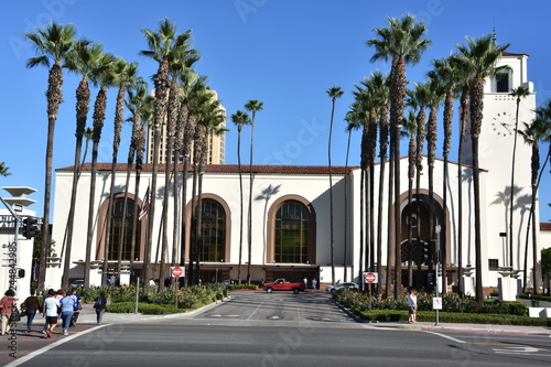 Union Station in Los Angeles, California