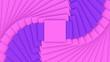 Leinwanddruck Bild - 3d rendering of the random pattern