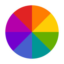 Color Wheel Or Color Circle Pi...