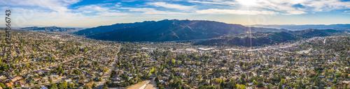 Fotomural Burbank Glendale Los Angeles Hollywood Hills Aerial