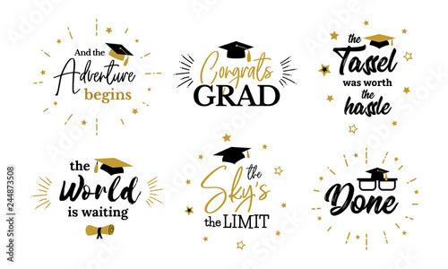 Fotografia  Inspirational grad party quotes to congrat graduates