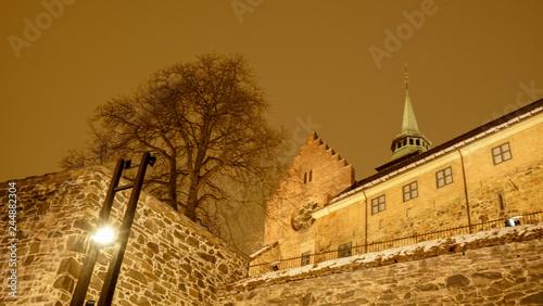 Obraz na płótnie Oslo Akerhus Forteca Twierdza Akerhus Norwegia Norwegia Norwegia