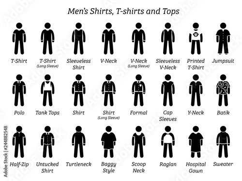 Men shirts, t-shirts, and tops Canvas Print