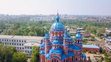 Russia, Irkutsk. Church Of The...