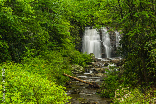 Fotografija Meigs Falls, Great Smoky Mountains National Park, Tennessee, United States