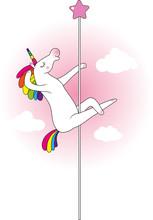 Unicorn Pole Dancer