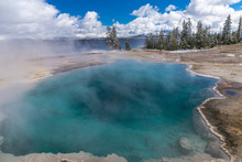 Black Pool, Yellowstone National Park, Wyoming, United States