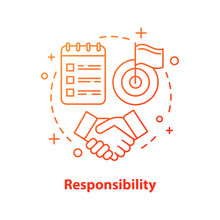 Responsibility Concept Icon