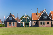 Traditional Dutch Houses In Ou...