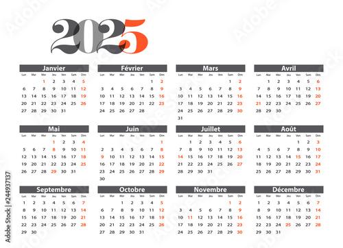Fotografia  Calendrier 2025