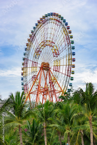 Fotografiet  observation wheel park