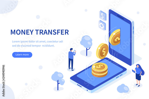 Stampa su Tela money transfer