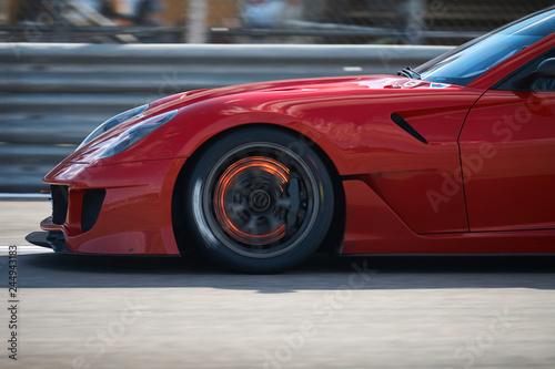 Fototapety, obrazy: super car brake