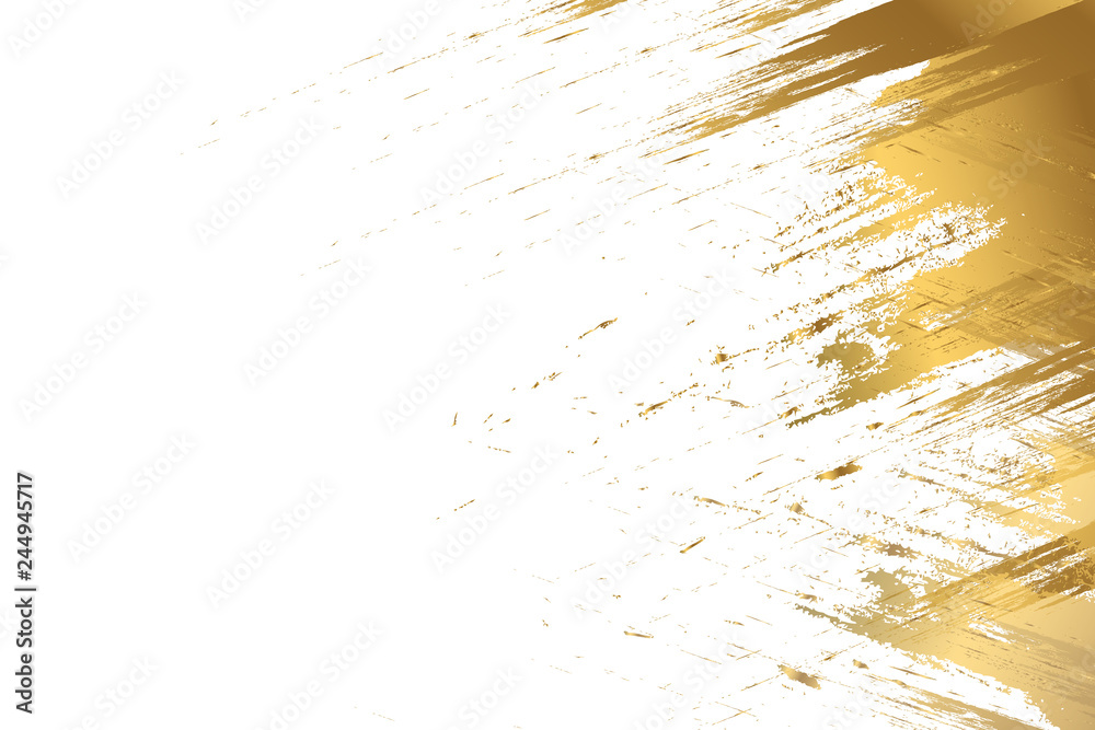 Fototapeta design templates for company. Pastel colors and gold brush strokes.