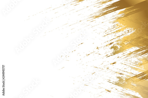 Fototapeta design templates for company. Pastel colors and gold brush strokes.  obraz