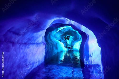 Photo Inside of a glacier in Austria - Europe