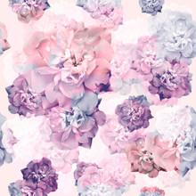 Rose Pattern, Seamless Pattern...