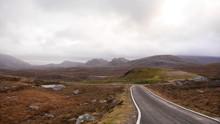 Landschaftsszenerie Isle Of Harris, Outer Hebrides, Schottland