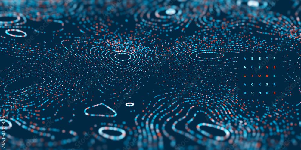 Fototapeta Arrière plan abstrait vectoriel 19