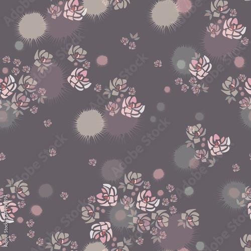 wektor-wzor-recznie-rysowane-rozowe-roze-kwiaty-na-szarym-tle-jak-akwarela-szablon-do-tekstyliow-tapety-opakowania-okladki-www