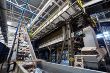 Wide Angle View At Recycling P...