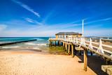 Fototapeta Fototapety z morzem do Twojej sypialni - Molo nad morzem