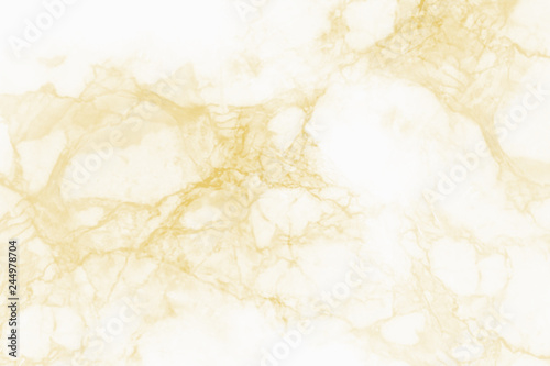 Gold marble texture background for design. - 244978704