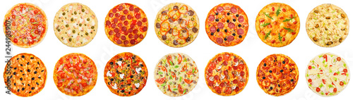 Fototapeta Choose your pizza concept obraz