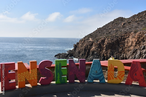 Ensenada sign in Mexico Wallpaper Mural