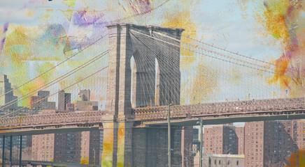 FototapetaBrooklyn bridge