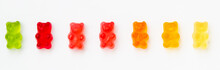 Colorful Jelly Candy Gummy Bea...