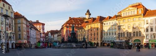 Fotografie, Obraz  City square panorama