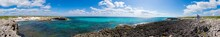 360 Degree Panorama Of The East Coast Of Cozumel, Mexico And El Mirador.