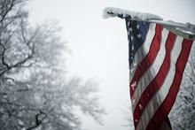 Frozen American Flag