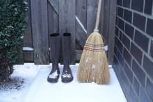 Hexenbesen Winter Schnee Holzt...