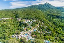 Small Village Near Mt Popa, My...