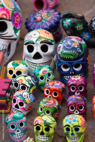 Fototapety, obrazy: calavaeras ceramica