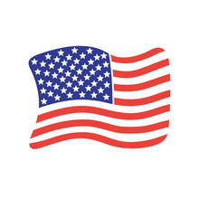 United States Of America Flag. USA Symbol.