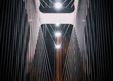 Fototapeta Fototapety mosty linowy / wiszący - most