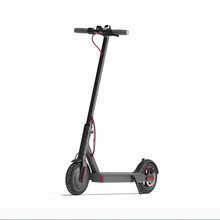 Electric Scooter Isolated On W...