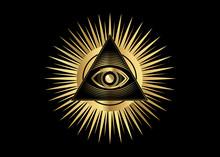 Sacred Masonic Symbol. All See...