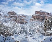Beautiful Winter Mountain Sc...