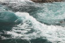 Tumultuous Waves On The Coastl...
