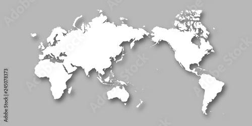 Pinturas sobre lienzo  世界 地図 大陸 背景
