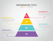 Infographic Template With Pyra...