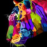 Fototapeta Fototapety na ścianę do pokoju dziecięcego - close up head tiger