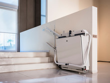 Disability Stairs Lift Facility Indoor Building Wheelchair Elevator